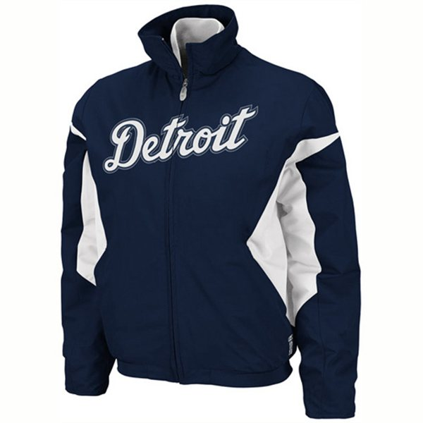 online store a0f87 33071 Majestic Detroit Tigers Youth Therma Base Premier Jacket