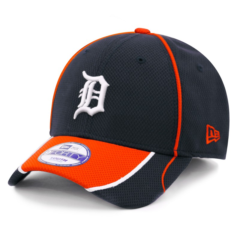 outlet store e29e3 c7219 ... sale new era kids detroit tigers 9forty navy jr fan wave adjustable cap  eef2f 501ac