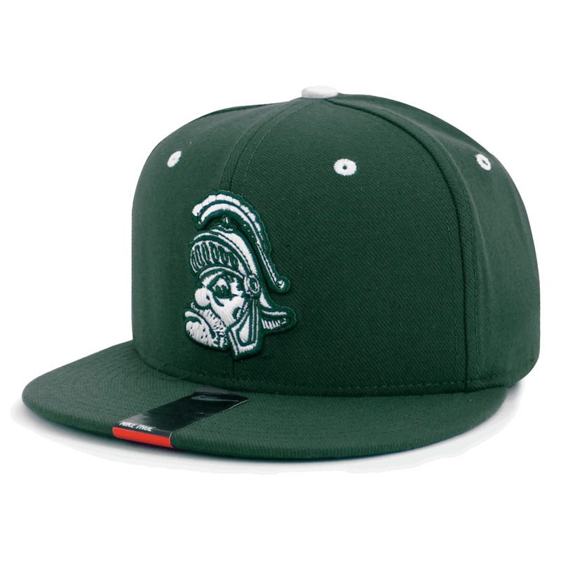 best cheap f8456 84a61 ... discount code for nike mens michigan state university spartans green  players true retro flex fitted cap