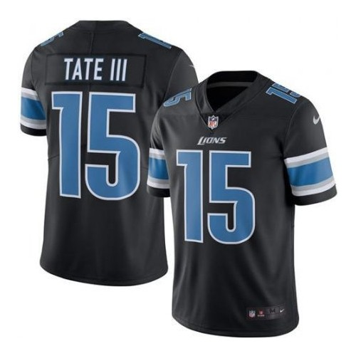 best sneakers 19553 494a9 Nike Detroit Lions Black Golden Tate III Color Rush Limited ...