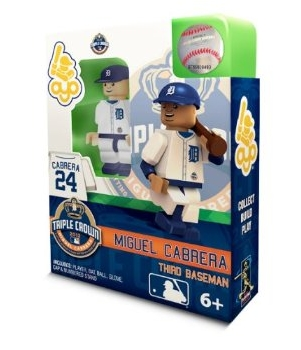 9676e1af OYO Sportstoys Detroit Tigers Limited Edition Miguel Cabrera Triple Crown  Collectible Figure