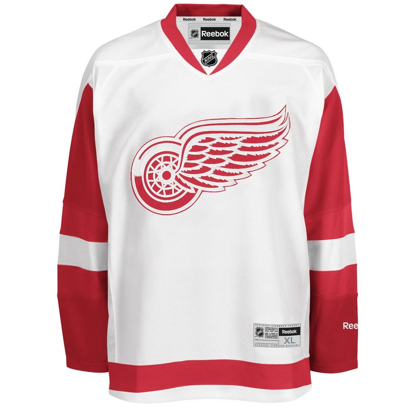 finest selection a2250 1b8f4 Reebok Youth Detroit Red Wings Premier Road Jersey