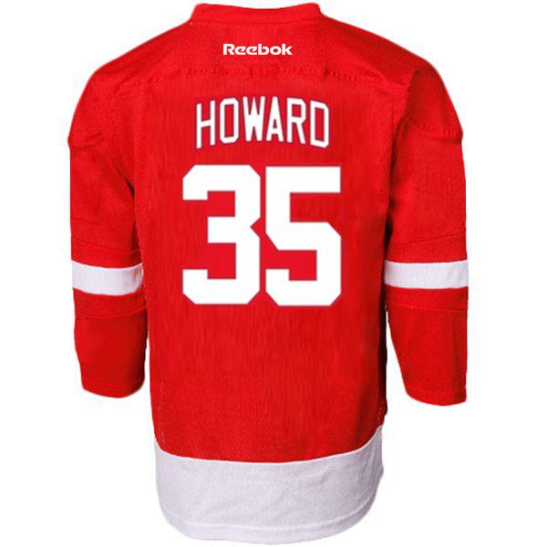 lowest price 90d03 b4eb2 Reebok Infant Detroit Red Wings Jimmy Howard Replica Home Jersey