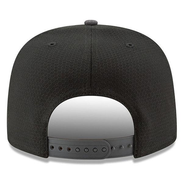 f96dd856d16 New Era Detroit Lions Black 9Fifty 2017 Sideline Snapback Cap