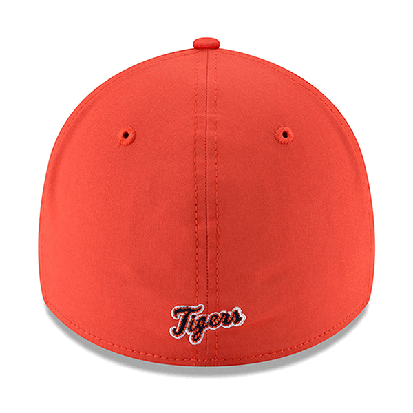 cheap for discount feb25 50b22 New Era Detroit Tigers Orange 39Thirty 2018 On-Field Prolight Batting  Practice Cap