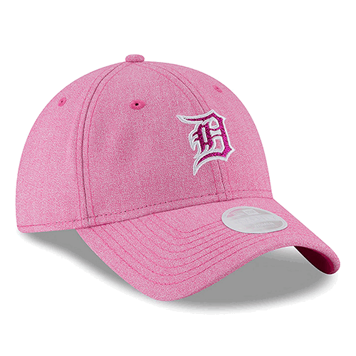 quite nice beb20 5f127 New Era Detroit Tigers Women s Pink 9Twenty 2018 Mother s Day Glisten  Adjustable Cap