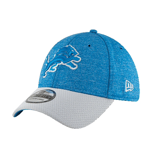 fd55779ebdd More images. New Era Detroit Lions Home Blue 39Thirty 2018 Sideline Cap