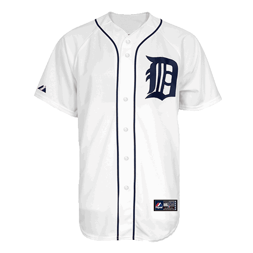 brand new 14a2b ffe86 Majestic Detroit Tigers Youth Home White Nicholas ...