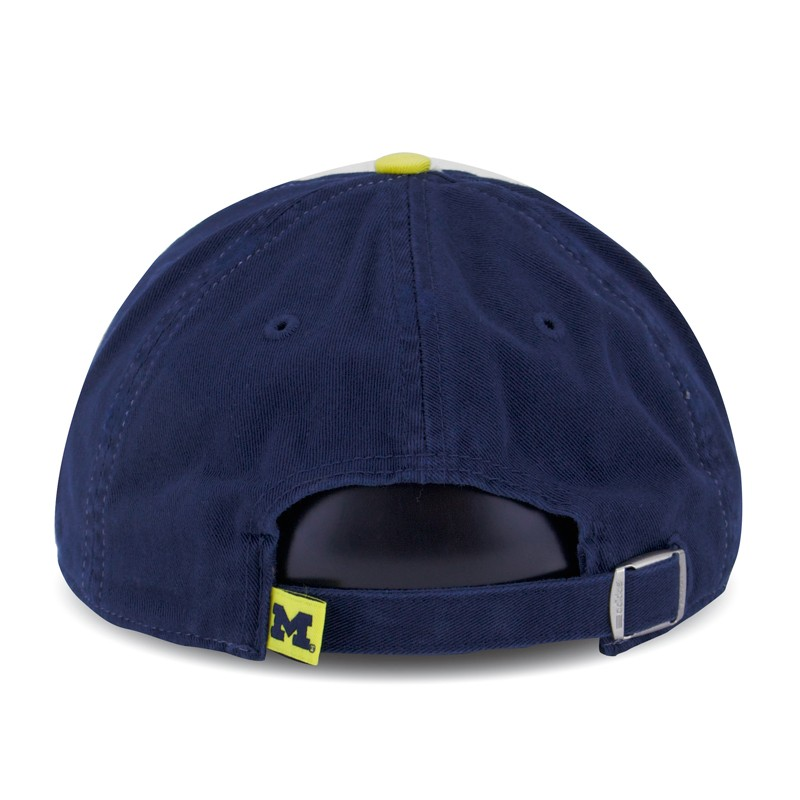 fd83b2306e2 Adidas Michigan Wolverines Women s Navy University Slouch Adjustable Cap