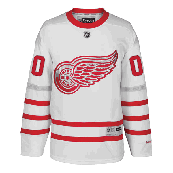 368955427 More images. Reebok Detroit Red Wings White Personalized 2017 Centennial  Classic Premier Jersey