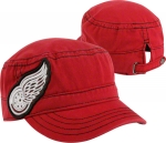 New Era Women's Detroit Red Wings Red Lace Fancy Military Adjustable Cap