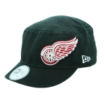 New Era Detroit Red Wings Black Military Shimmer Flex-Fit Cap