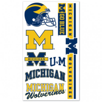 Wincraft Michigan Wolverines Temporary Tattoos