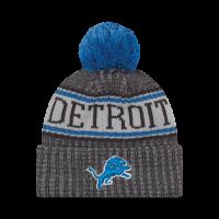 84799eb7dc8 New Era Detroit Lions Graphite 2018 Official Onfield Cold Weather Sport Knit  Cap