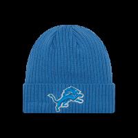 9161bc72a6464 New Era Detroit Lions Blue Core Classic Knit Cap