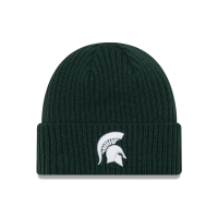 New Era Michigan State Spartans Green Core Classic Knit Hat