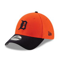 New Era Detroit Tigers Orange 39Thirty 2019 Batting Practice Stretch Fit Cap