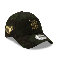 New Era Detroit Tigers Camo 9Forty 2019 Armed Forces Day Adjustable Cap