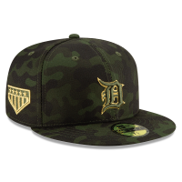 New Era Detroit Tigers Camo 59Fifty 2019 Armed Forces Day Fitted Cap