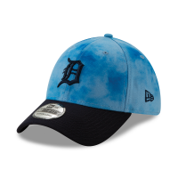 New Era Detroit Tigers Sky Blue 39Thirty 2019 Father's Day Flex Fitted Cap