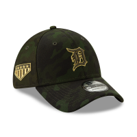 New Era Detroit Tigers Camo 39Thirty 2019 Armed Forces Day Flex Fitted Cap