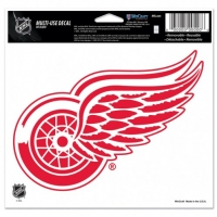 "Wincraft Detroit Red Wings Multi-Use Colored Decal 5"" x 6"""