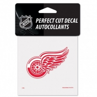 "Wincraft Detroit Red Wings Perfect Cut Decal 4"" x 4"""