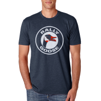 Motor City Bad Boys Midnight Navy Rally Goose Tee