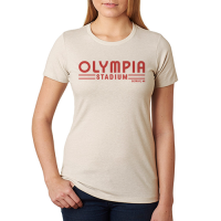 Motor City Bad Boys Women's Sand Olympia Stadium Tee