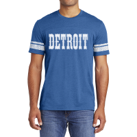 Motor City Bad Boys Heather Royal Detroit Circus Game Tee