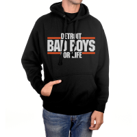 Motor City Bad Boys Black Detroit Bad Boys For Life Pullover Hoodie