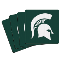 Boelter Michigan State Spartans Neoprene Coaster 4-Pack