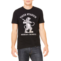 Motor City Bad Boys Black Tiger Stadium Premium Tee