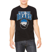 Motor City Bad Boys Black Fear The Beard Premium Tee
