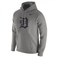 Nike Detroit Tigers Dark Gray Heather Franchise Pullover Hoodie