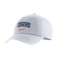 Nike Detroit Tigers White H86 Arch Adjustable Cap