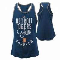 Majestic Detroit Tigers Youth Girls I'm a Fan Racerback Tank