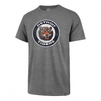 47 Brand Detroit Tigers Slate Gray Throwback Club Tee