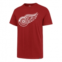 47 Brand Detroit Red Wings Red Imprint Super Rival Tee