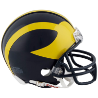 Riddell Michigan Wolverines Traditional VSR4 Mini Helmet