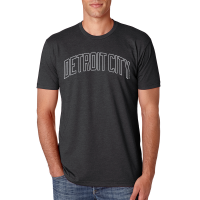 Motor City Bad Boys Charcoal Detroit City Premium Crew