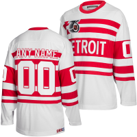 CCM Detroit Red Wings White Personalized 1991-92 Team Classics Jersey