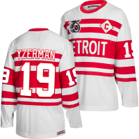 CCM Detroit Red Wings White Steve Yzerman 1991-92 Team Classics Jersey