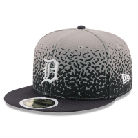 New Era Detroit Tigers Gray 9Fifty Speckle Rise Snapback Cap