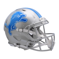 Riddell Detroit Lions Revolution Speed Authentic Helmet