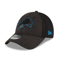 New Era Detroit Lions Kid's Black 9Forty Jr. Shaded Front Cap