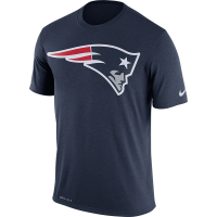 Nike New England Patriots Navy Legend Essential Logo 3 Tee