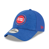 New Era Detroit Pistons Blue 9Forty Shaded Front Cap