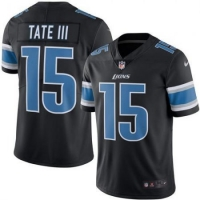 Nike Detroit Lions Black Golden Tate III Color Rush Limited Jersey