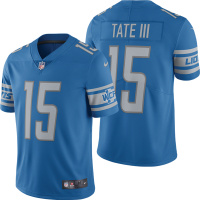 Nike Detroit Lions Blue Golden Tate III Limited Jersey
